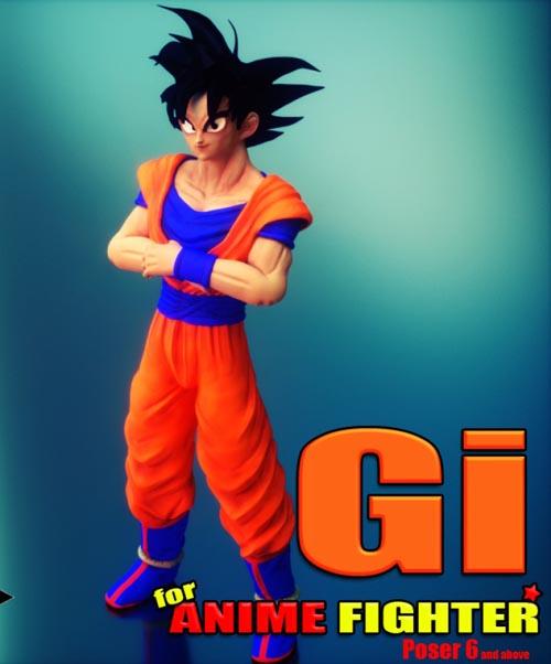 Gi for Anime Fighter