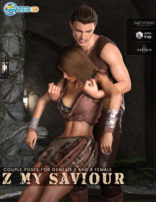Z My Saviour - Poses for Genesis 3 and 8
