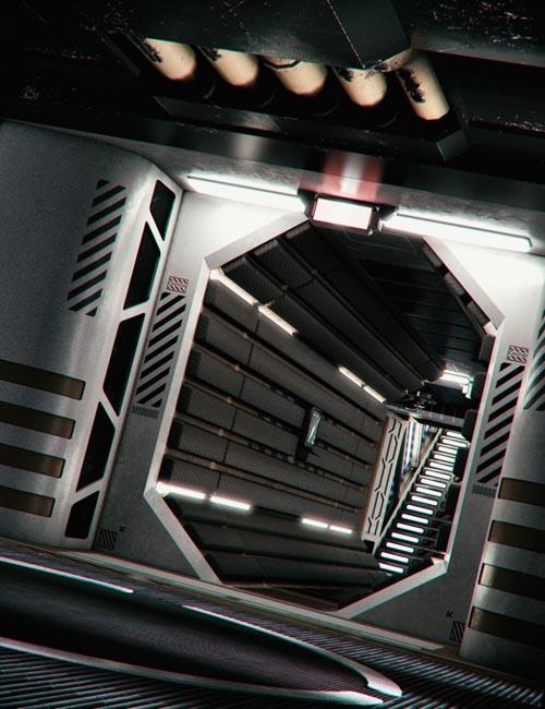 Sci-fi Interior Kit 3