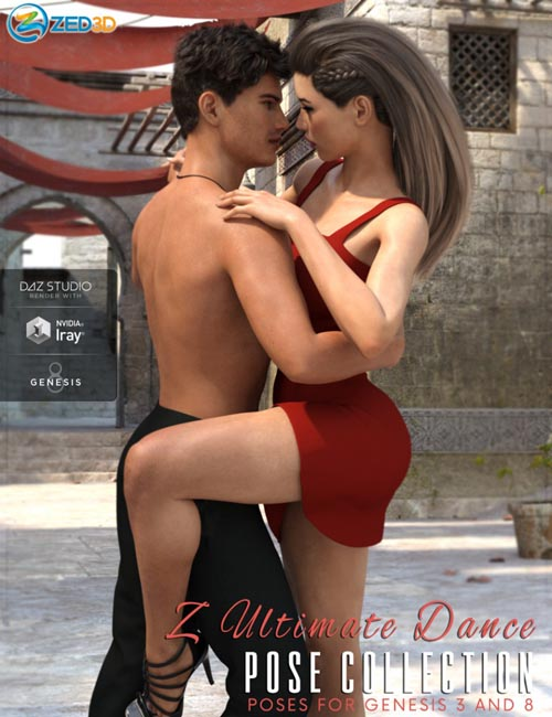 Z Ultimate Dance Collection - Poses and Partials for Genesis 3 and 8