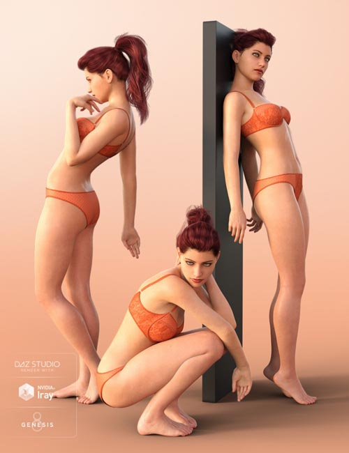 Relentless Poses for Your Genesis 8 Female