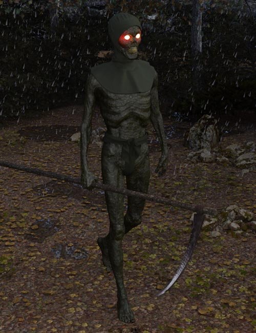Medieval Death HD for Genesis 8 Male