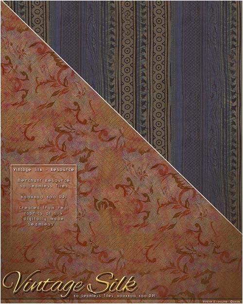 MR-Vintage Silk Fabric