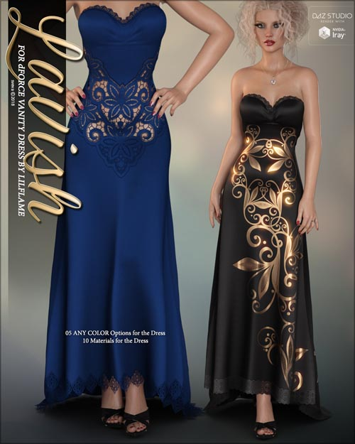 Lavish for dForce Vanity Dress G8F