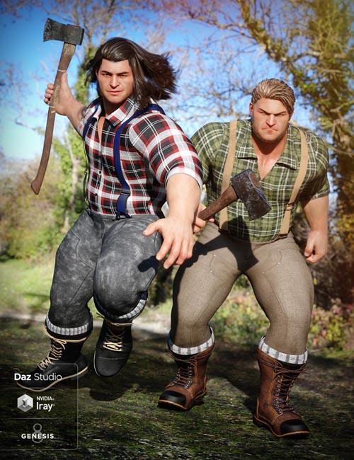 Lumberjack Outfit Textures
