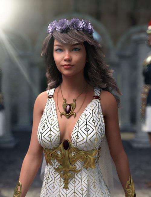 Caia for Genesis 8 Female