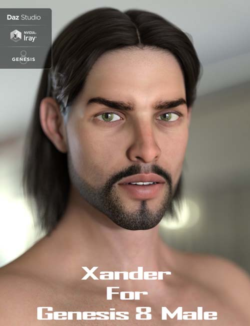Xander for Genesis 8 Male