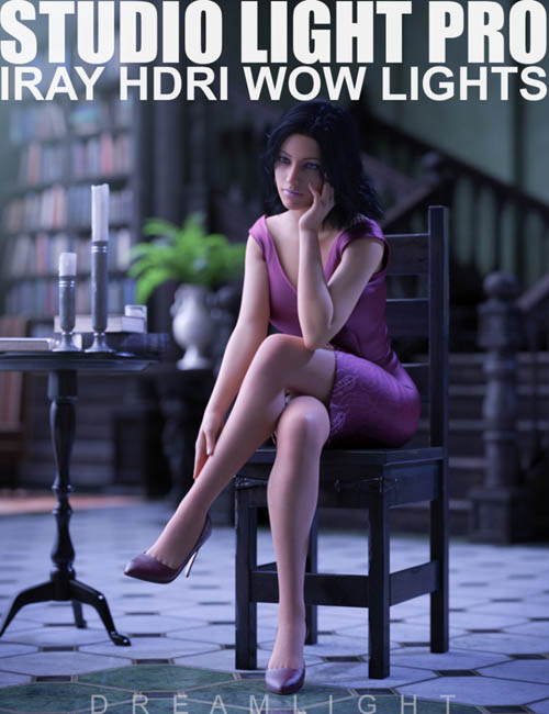 Studio Light PRO HDRI Iray Wow Lights
