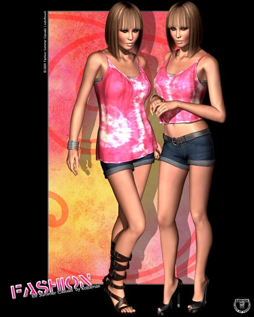 Fashion for Summer Casuals by kobamax