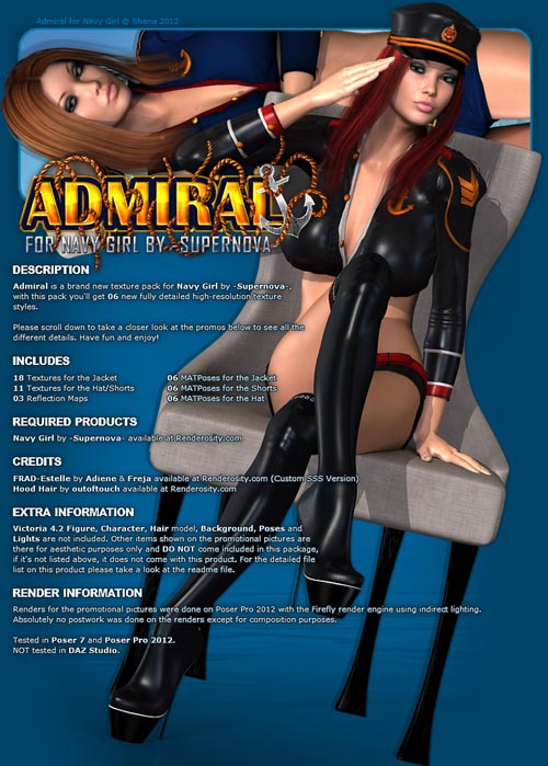 Admiral for Navy Girl
