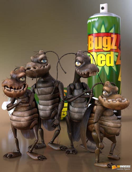 Toon Cockroach - Bugsy and the Gang