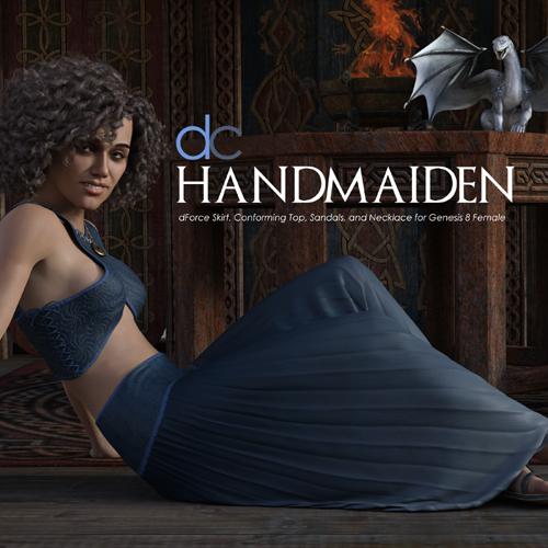 DC-HandMaiden for Genesis 8 Female