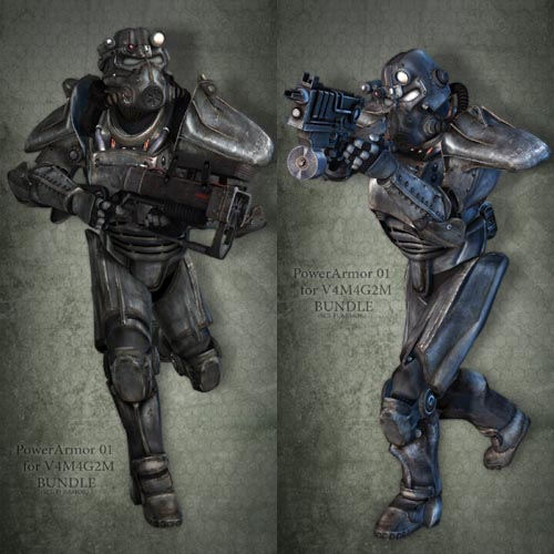 PowerArmor 01 for V4M4 Bundle