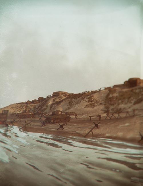 D-Day Landing Beach Diorama
