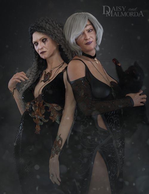 EJ Daisy and Malmorda for Genesis 8 Female