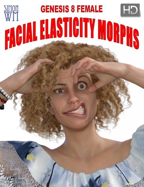Genesis 8 Female Facial Elasticity Morphs