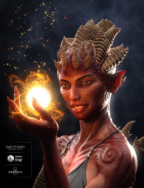 Hell Princess HD for Genesis 8 Female