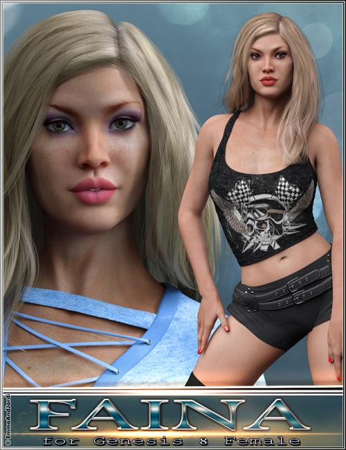 EJ Faina For Genesis 8 Female