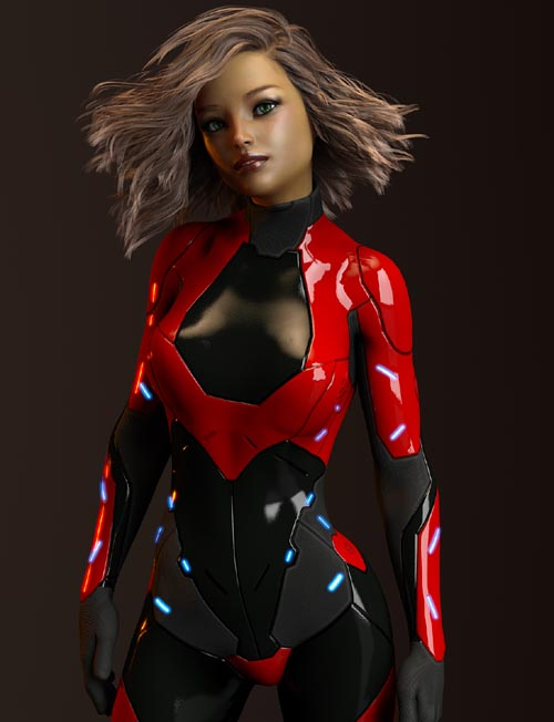 Dega Suit dforce for Genesis 8 Female Daz Studio