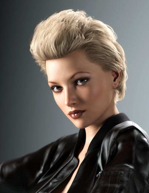 Rachel Hair for Genesis 3 and 8 Female(s)