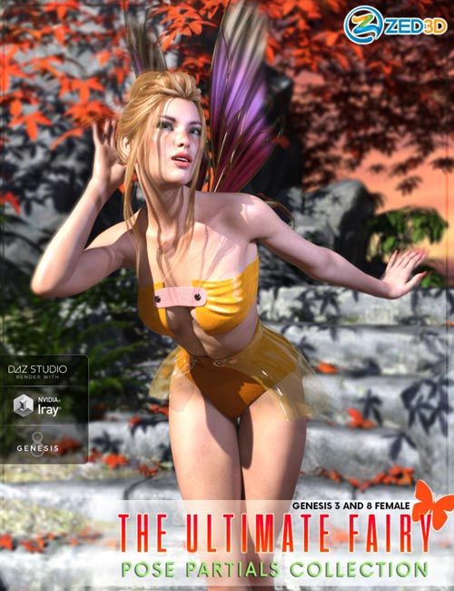 Z Ultimate Fairy Pose Collection for Genesis 3 and 8 Female
