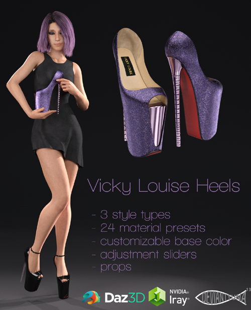 Vicky Louise Heels