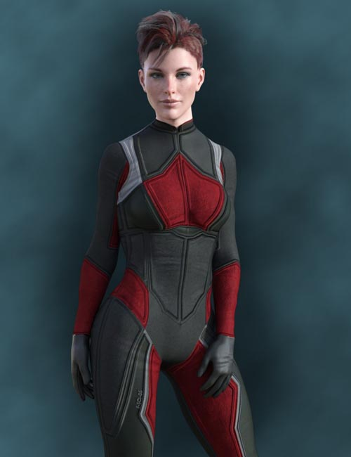 X-Fashion Sci Bodysuit 5 for Genesis 8 Female(s)