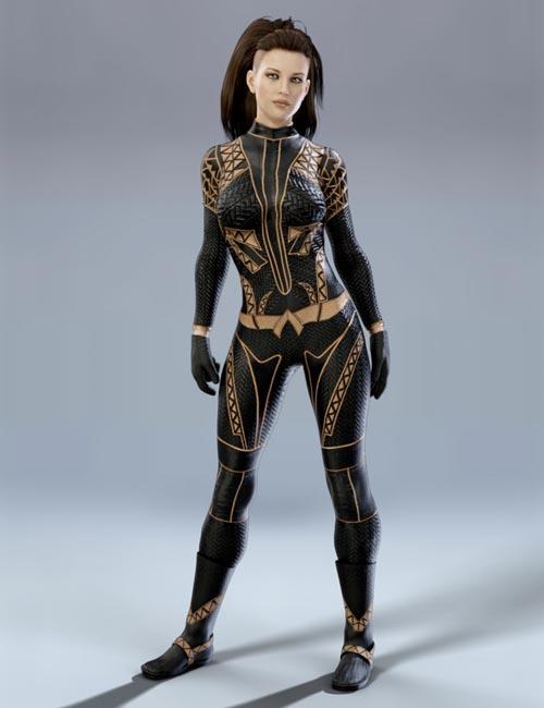X-Fashion Sci Bodysuit 2 for Genesis 8 Female(s)