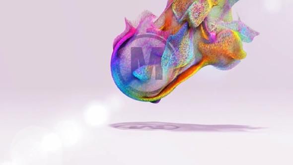 Particles Logo 2