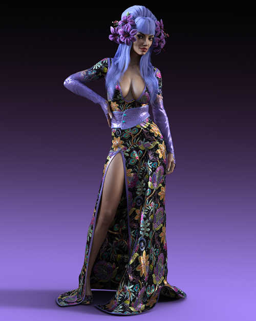 Charm Horror Hostess Dress