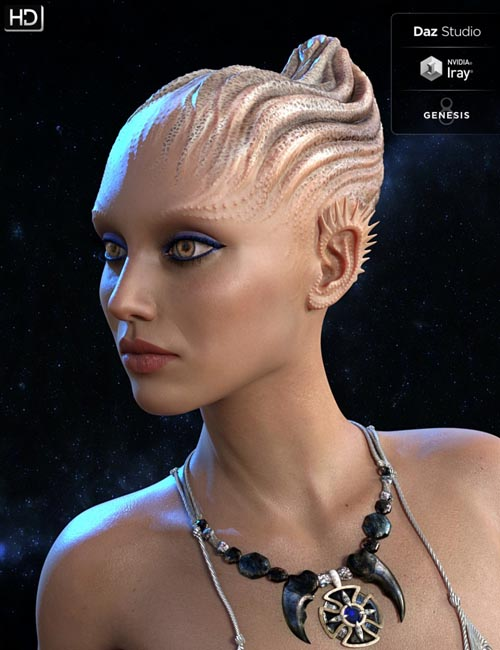 Neeya HD for Genesis 8 Female