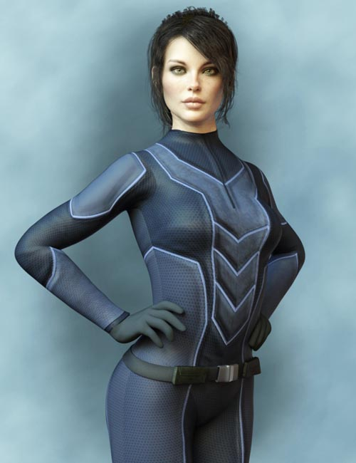 X-Fashion Sci Bodysuit 6 for Genesis 8 Female(s)