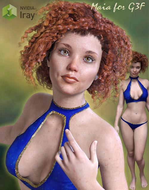 Maia for Genesis 3 Females