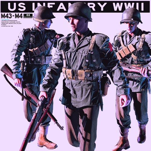US Infantry WWII M43