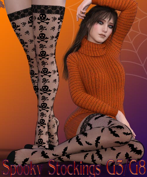 Spooky Stockings G3F G8F
