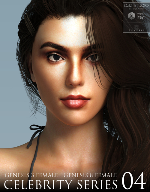 Celebrity Series 04 for Genesis 3 and Genesis 8 Female