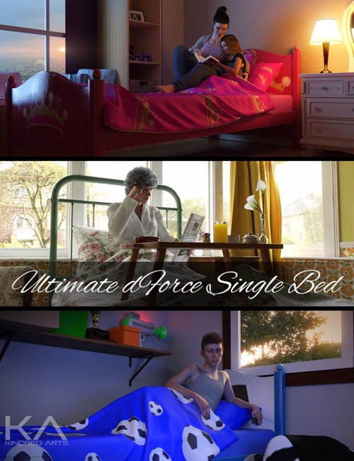 Ultimate dForce Single Bed