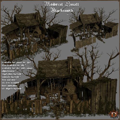 Medieval Small Blacksmith