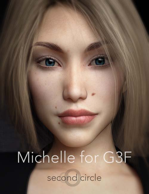 Michelle for Genesis 3 Female