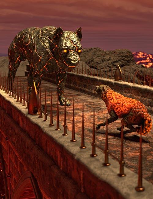 Oso Rock Dogs for Daz Dog 8