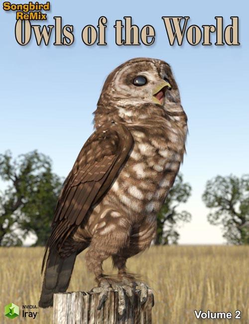 SBRM Owls of the World Volume 2