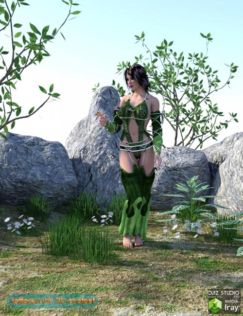 Iray Plants and Rocks Pack
