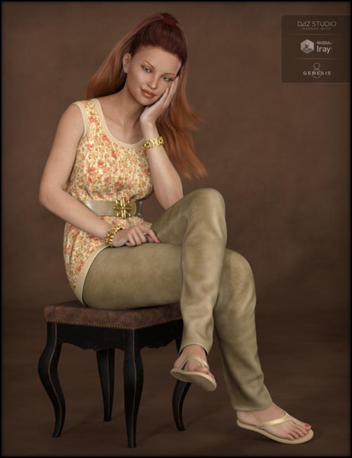 Blooming Outfit for Genesis 8 Female(s)