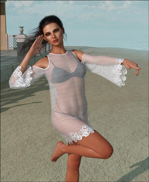 dForce - Beach Dress for G8F