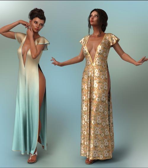 dForce - Romance Dress for G8F