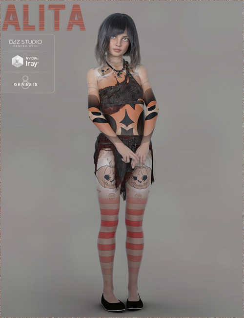 TDT-Alita for Genesis 8 Female
