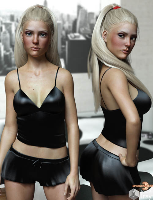 LUST - Sweetie PJ Set for Genesis 3 Females