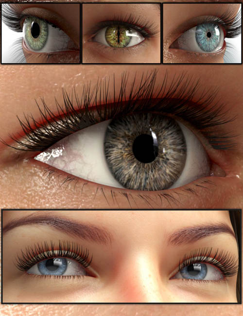 GP Character Eyes for Genesis 8