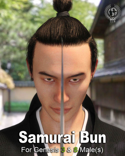 Samurai Bun For Genesis 3 And 8 Males