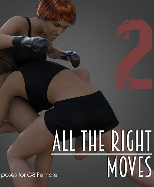 ALL THE RIGHT MOVES vol.2 for Genesis 8 Female